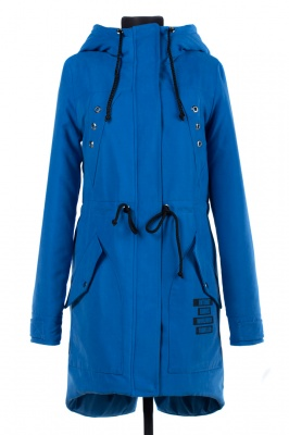 04-1670 Куртка демисезонная Scandinavia (Синтепон 200) Плащевка Голубой
