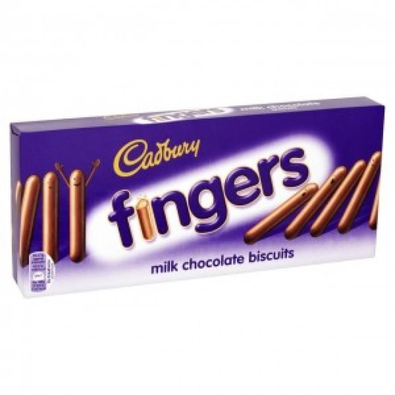 Кэдбери шоколадные палочки Фингерс 114г