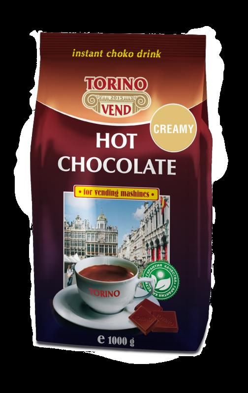 Горячий шоколад молочный TORINO CREAMY 1000 г