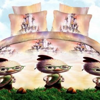 """Артикул: 711. Комплект постельного белья (КПБ) из поплина \""""Цыпа\"""""""