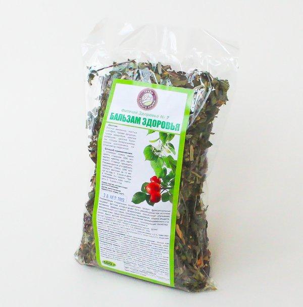 Травяной сбор Бальзам здоровья (омолаживающий) 100 г