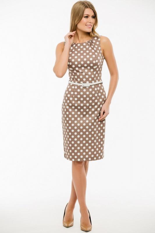 Платье с ремнем 7409