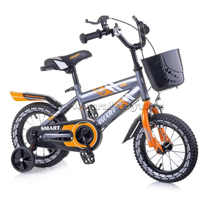 Велосипед 12 оранжевый