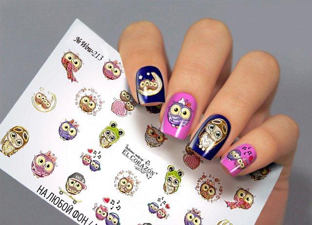 Слайдеры для ногтей WOW-213