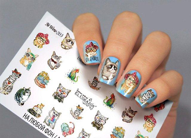 Слайдеры для ногтей WOW-203