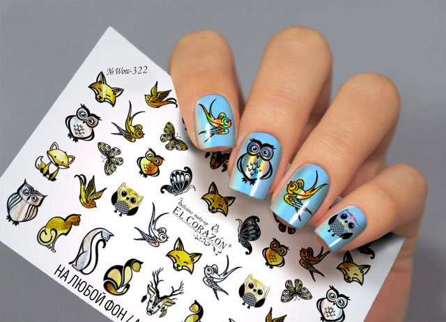 Слайдеры для ногтей WOW-322