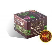 Мягкое травяное мыло бельди Крымские травы