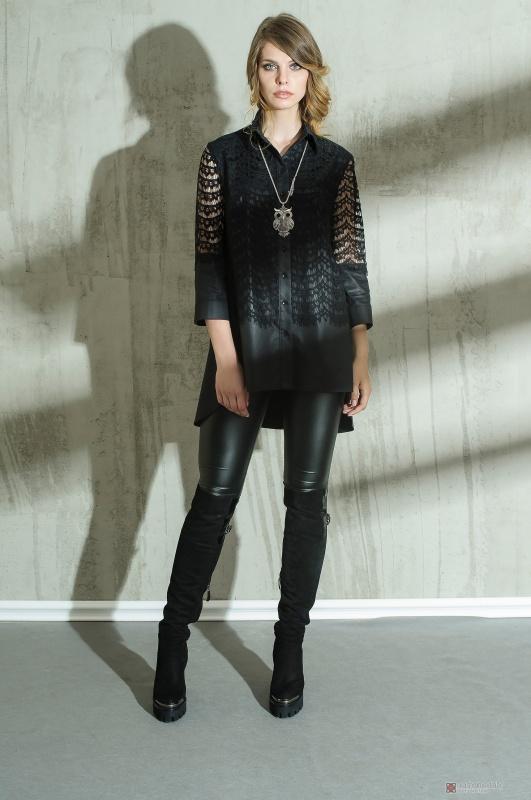 Блуза Anna Majewska 1031 черная