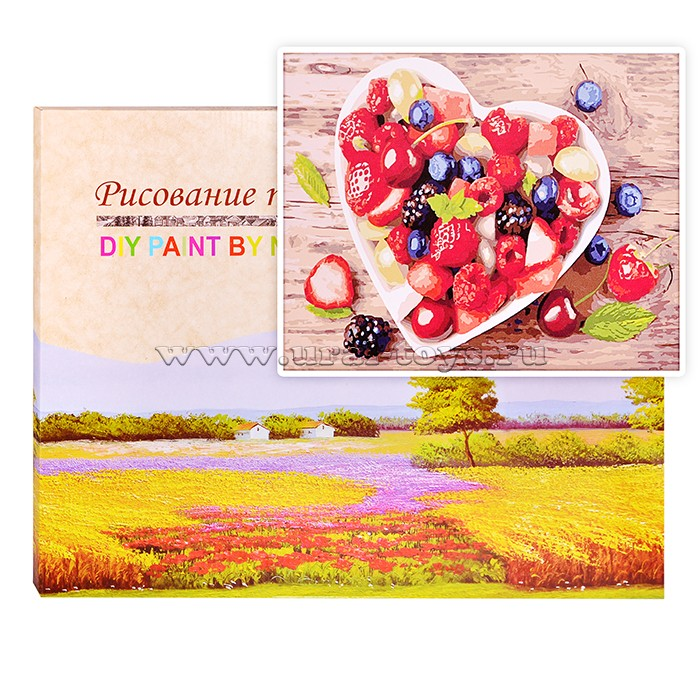 Картина по номерам Лесные ягоды