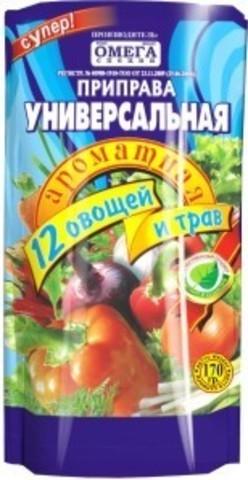Омега Приправа супер универсальная 12 овощей и трав 150гр