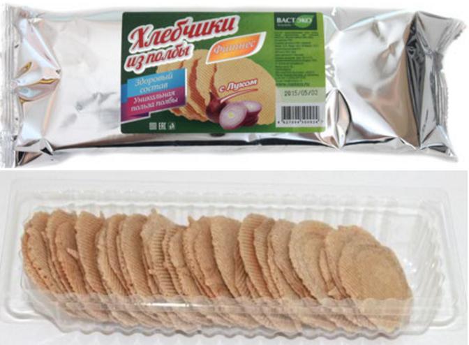 Хлебчики из полбы Фитнес с луком
