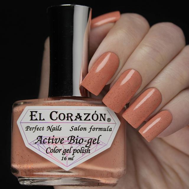 """EL Corazon® Active Bio-gel Color gel polish  \""""Autumn dreams\"""" №423/1024"""