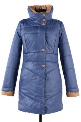 04-0777 Куртка демисезонная University (синтепон 200) Плащевка Серо-голубой