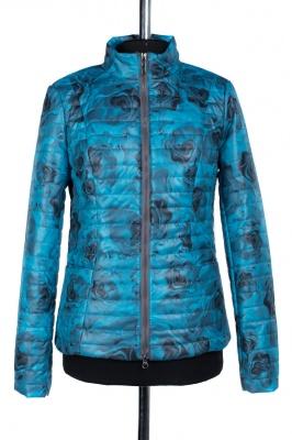 04-0679 Куртка демисезонная University (синтепон 100) Плащевка Серо-голубой