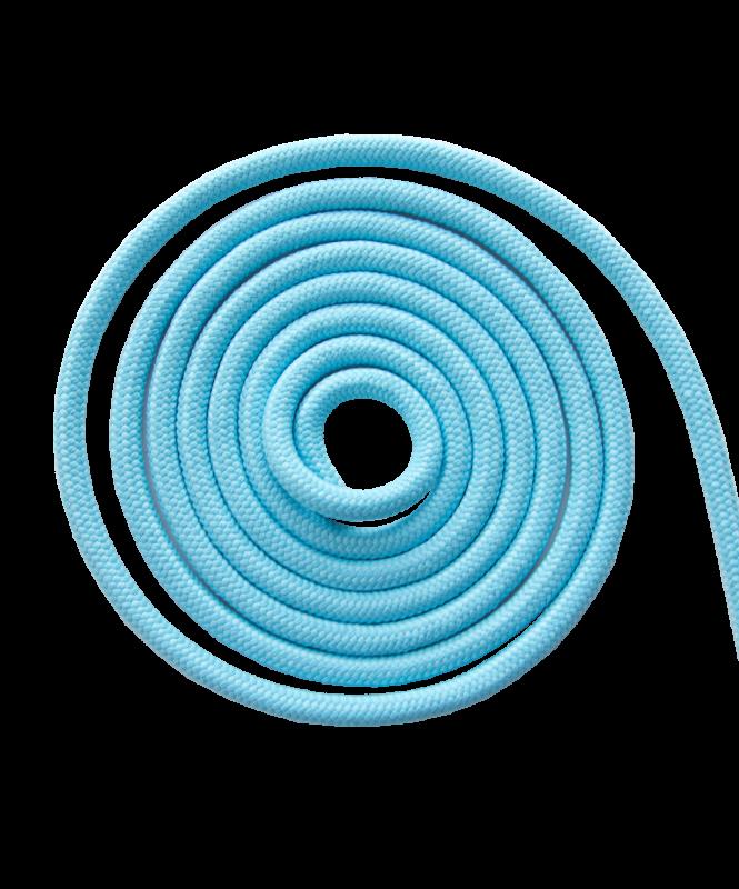 Скакалка для художественной гимнастики RGJ-101, 3 м, голубой