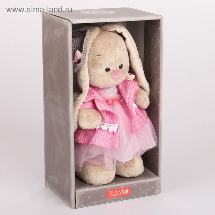 """Мягкая игрушка """"Зайка Ми Розовый бутон"""" 25 см"""