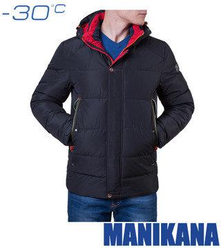 Зимняя куртка MANIKANA 17168 черный (51-H)