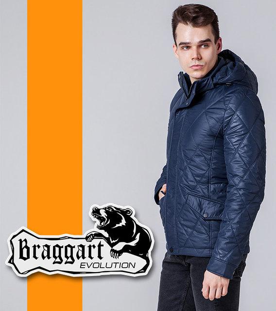 Braggart | Мужская весенне-осенняя куртка 1489 синяя