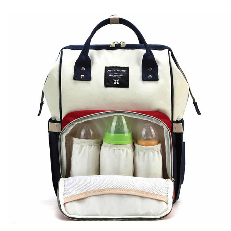 MOM-096-CREAM Сумка - Рюкзак для молодой мамы