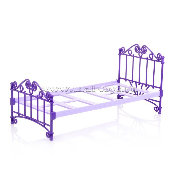 Кроватка фиолетовая