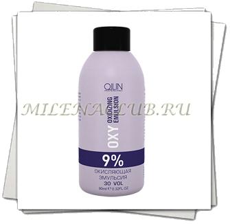 Ollin Oxy Performance Окисляющая эмульсия 9% Oxidizing Emulsion 90мл