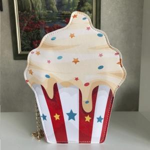 Яркая сумочка-пирожное BAG-30-YELLOW