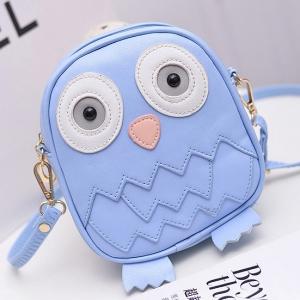 Симпатичная сумочка в виде совы BAG-6-BLUE