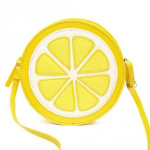 Круглая сумочка в виде лимона BAG-211-LEMON