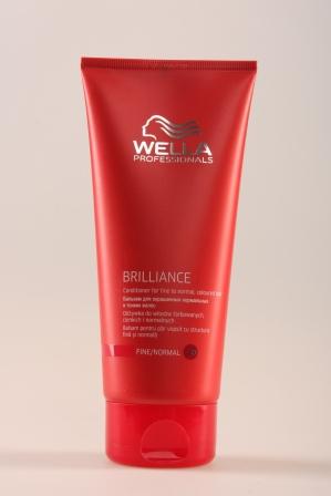Wella BRILLIANCE Бальзам для окрашенных нормальных и тонких волос 200 мл.