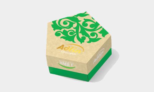 """Конфеты из пашмалы с фундуком в шоколадной глазури в упаковке Star Box """"Adlin"""" - 150 г"""