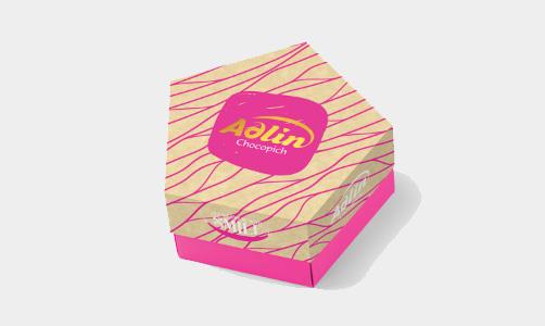 """Конфеты из пашмалы со вкусом розы в розовой глазури в упаковке Star Box """"Adlin""""-150г"""