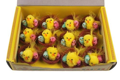 Набор пасхальных птенцов для декорации