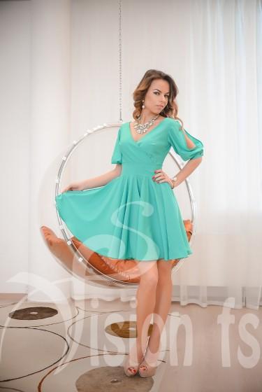 Vision FS: Романтичное летнее платье Далия (артикул 16503 M)