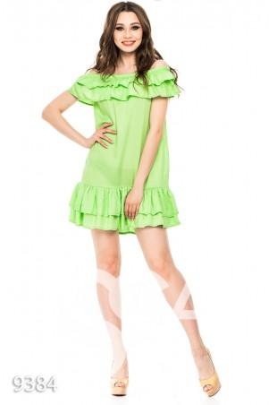 Платья 9384_салатовый: ISSA PLUS