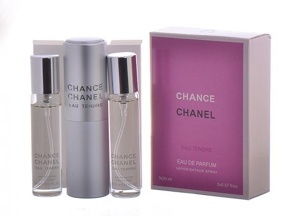 "Chanel \""Chance Eau Tendre\"" 3 х 20 ml"