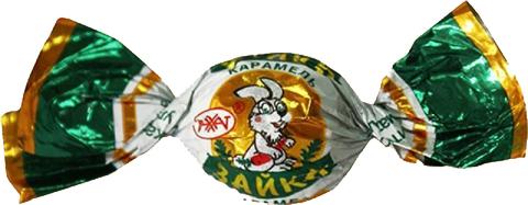 Карамель Зайка с орех.нач. 1,0 кг , заказ от 250г