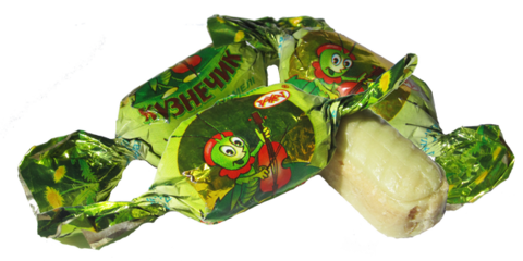 Карамель Кузнечик с оре.нач. 1,0 кг , заказ от 250г