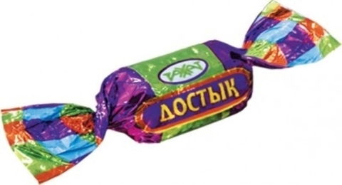 Карамель Достык глазир. 1,0 кг, заказ от 250г