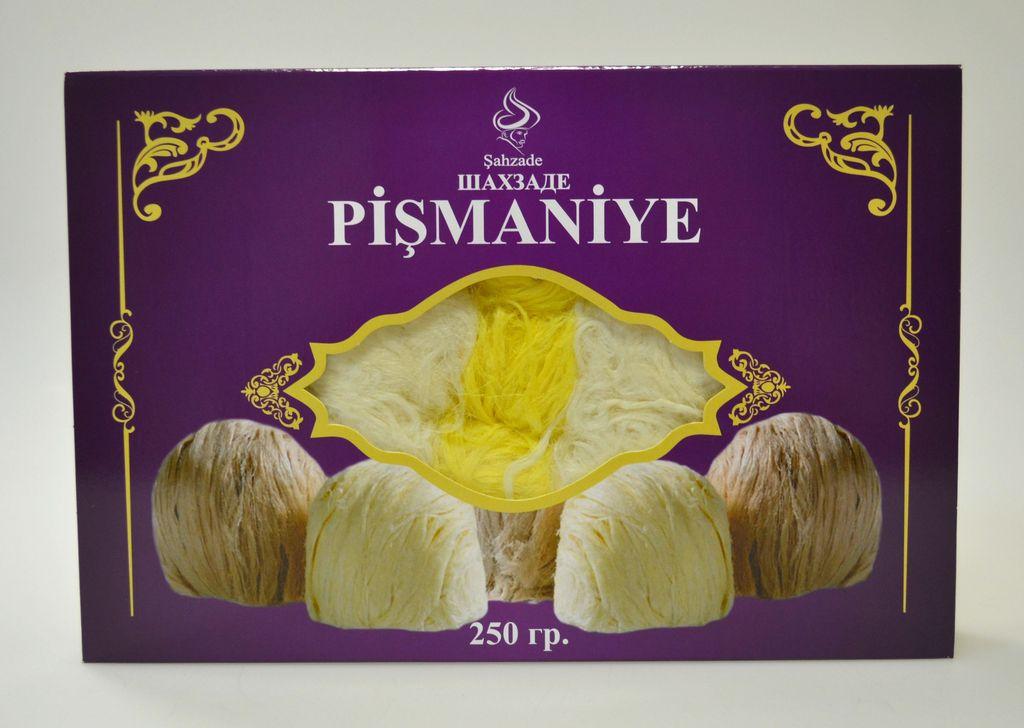 Турецкая халва «Пишмание» Пишмание с лимоном 250 г.