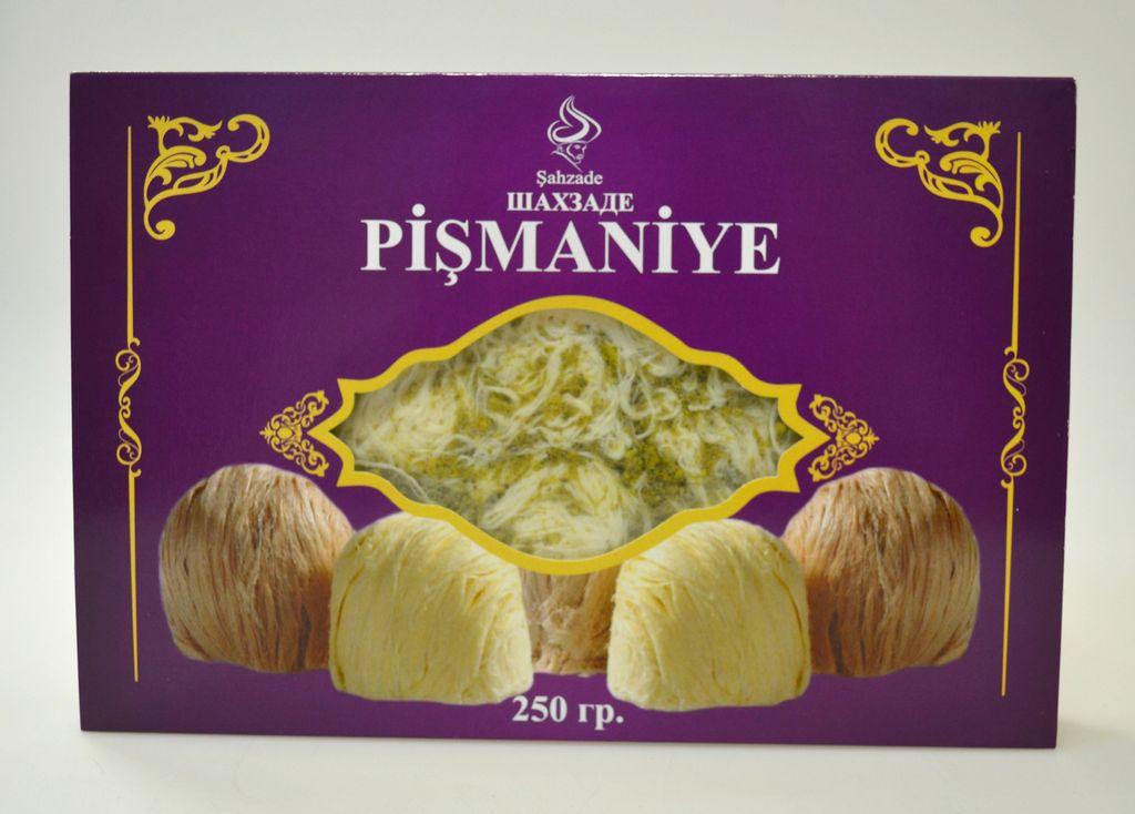 Турецкая халва «Пишмание» Пишмание с фисташкой вегетерианская 250 г