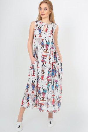 Платье 2540 мультиколор 2540.84: V&V