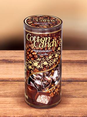 Конфеты из пашмалы со вкусом горького шоколада 60% в шоколадной глазури в тубе 200 г