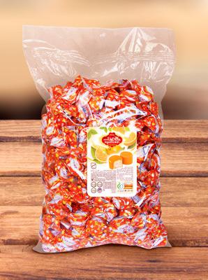 Конфеты из пашмалы со вкусом апельсина во фруктовой глазури 1 кг