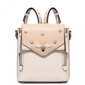 JSTAR-171789-BIEGE Женский рюкзак бренда «JUST STAR».  Высочайшее европейское качество.