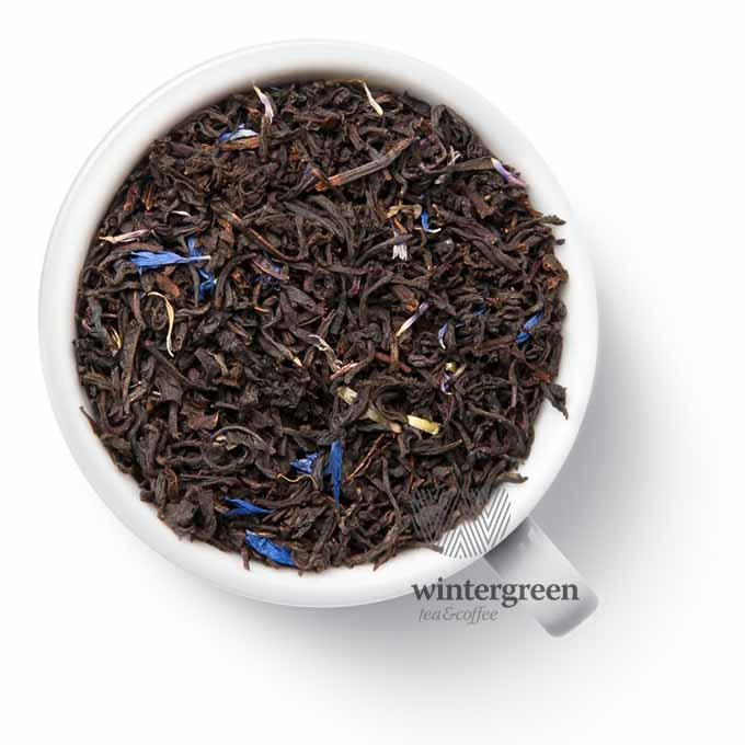 Чай черный Эрл Грей Голубой цветок 250 гр