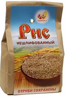 Рис нешлифованный 500 гр ДИВИНКА