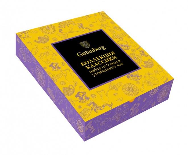 63016-C Коллекция Чайной Классики Gutenberg (PURPLE) (90 шт)