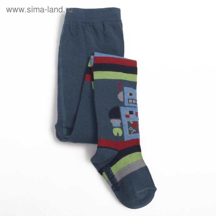 Колготки для мальчика, рост 92-98, цвет джинсовый КДМ1-2778