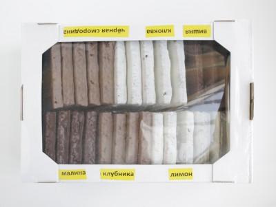 Пряник весовой в шоколаде ( отпускается  в коробках –экранах , 6 видов начинки в одной коробке)1кг