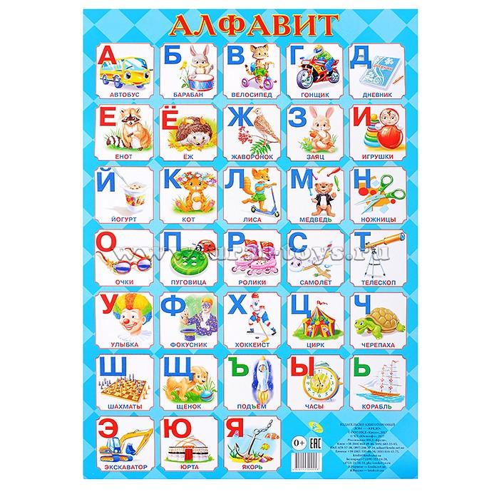Плакат А2 алфавит